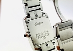 CARTIER LADIES STAINLESS STEEL TANK  FRANCAISE WATCH~SWISS QUARTZ